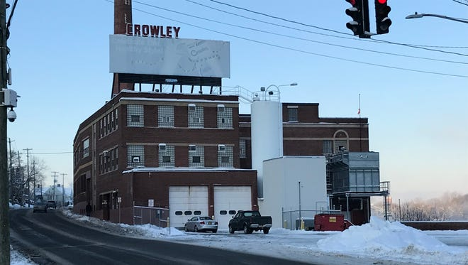 Bank of America is foreclosing on the new owners of the former Crowley plant on Binghamton's South Side.