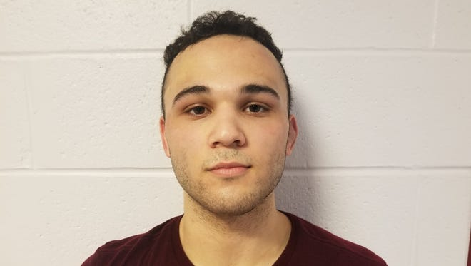 Cherry Hill West senior 195-pound wrestler Jayson Peralta.