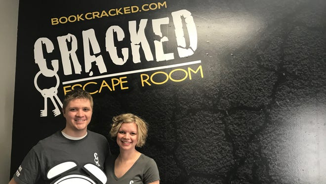 Paul and Andria Smith, the owners of Cracked Escape Room