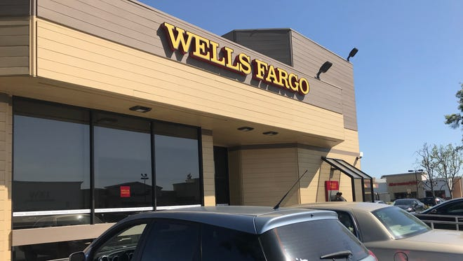 Police were called just after 4 a.m. Tuesday to Wells Fargo bank, located in the 3700 block of South Mooney Boulevard.