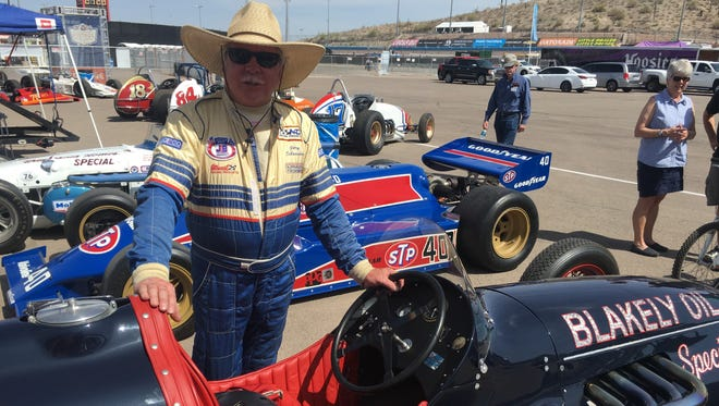 Gary Schroeder and his 1951 Blakey Oil Special.