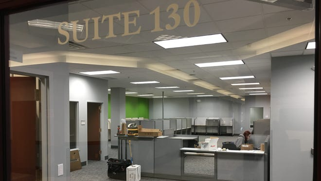 The Brown County Job Center's new home in Baylake City Center, 301 N. Adams St.