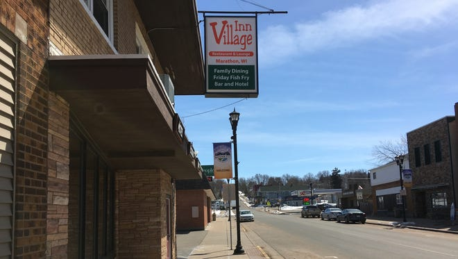 Police say a man's body was found inside a closet on Thursday, April 19, 2018 in the Village Inn motel in Marathon City.