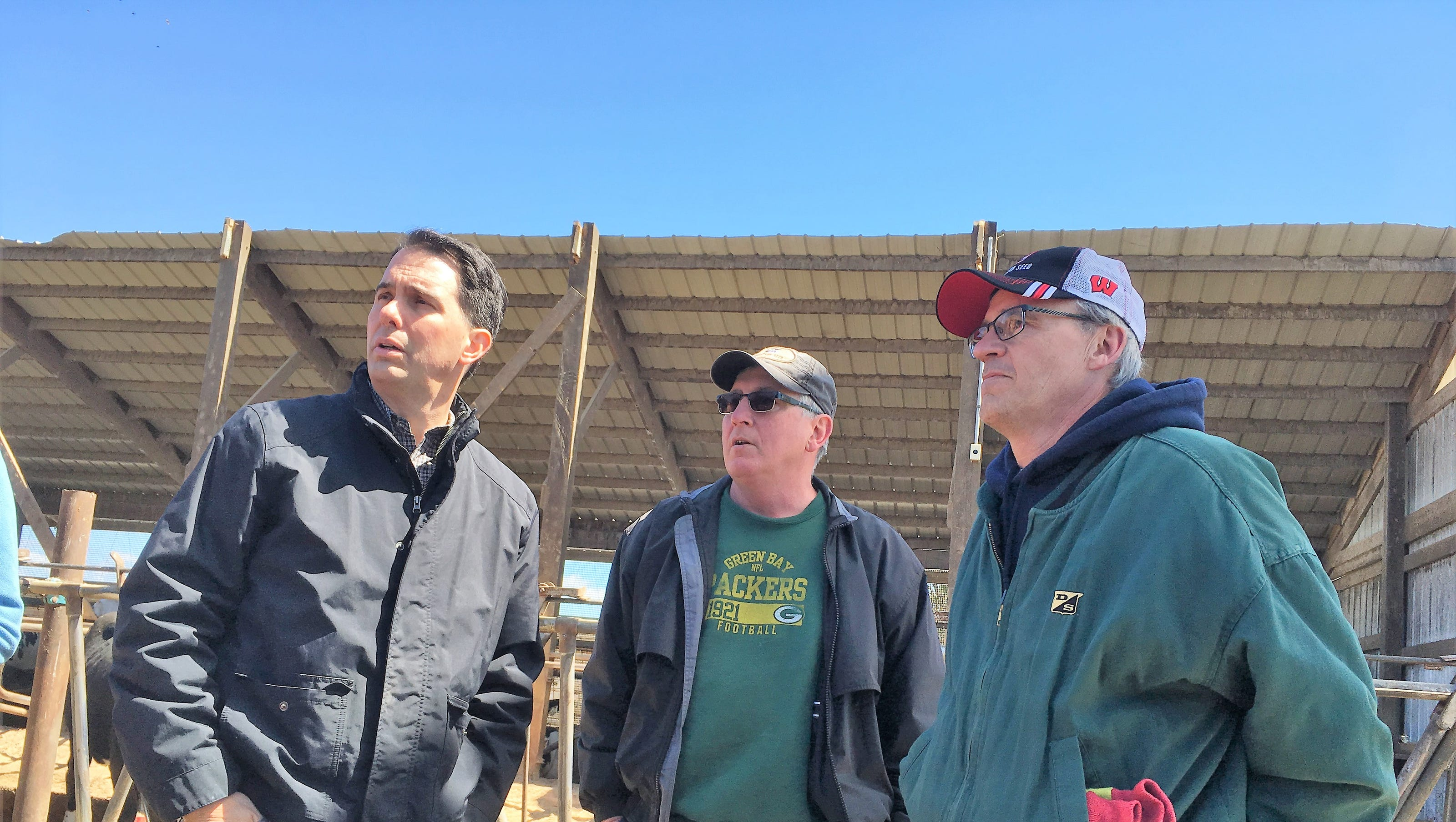 Walker State Officials Tour Area Farms To See Blizzard Damage
