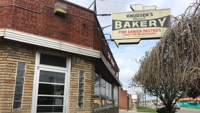 Knudsen's Danish Bakery on West McNichols Road in Detroit.