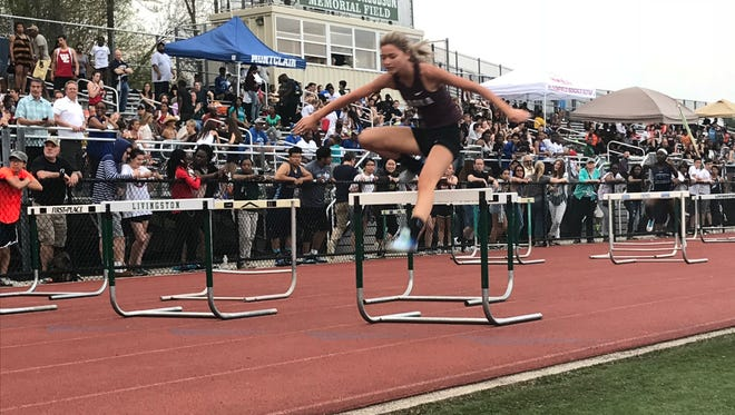 Verona girls track was successful at the Essex County relays in a number of events, including the shuttle relay.