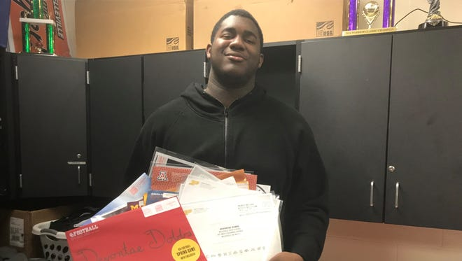 Devontae Dobbs can throw away all the mail after committing to the Spartans.