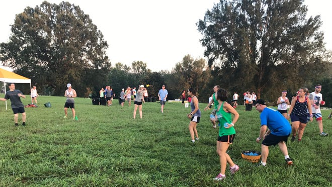 Girls Inc. of the Tennessee Valley hosted its first Adult Field Day at Lakeshore Park in 2017.