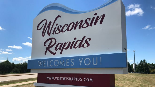 New welcome signs are up in Wisconsin Rapids.