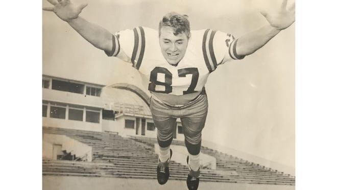 Lynn Schenk was a football star at Fairfield High who graduated in 1969. He went on to play with the Montana State Bobcats and lives now in his hometown.