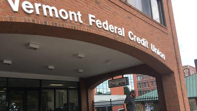 Vermont Federal Credit Union on Pine Street in Burlington.