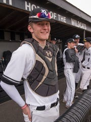 Zach is back. Catcher Zach Beadle is back on the baseball diamond, seven months after the Wildcats quarterback broke a leg during a Sept. 29, 2017, football game against Livonia Churchill.