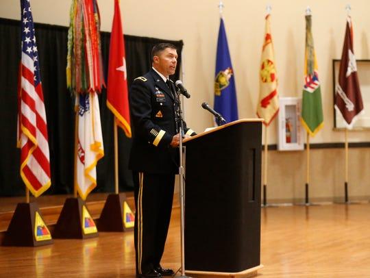 Brig. Gen. Mark H. Landes, deputy commanding general