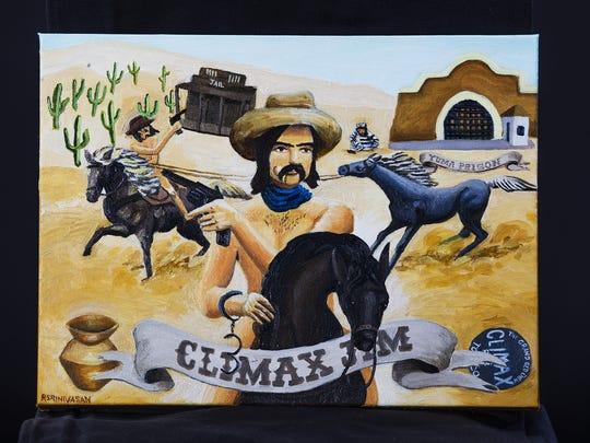 Rachel Srinivasan from Tempe created her piece, Climax
