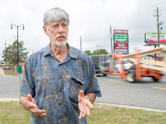 Chuck Fosha, owner of Gateway Plaza, discusses his