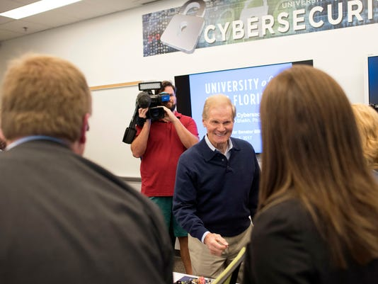 UWF Cybersecurity-Sen. Nelson