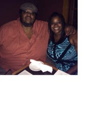 Manny Yarbrough, left, and Cassandra Dumas met on the