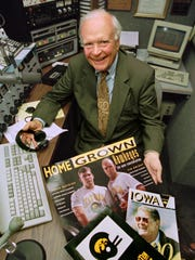 The late Bob Brooks was one of the most legendary sports broadcasters in Iowa history. He is being inducted into the Des Moines Sunday Register's Iowa Sports Hall of Fame.