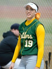C.M. Russell junior lefthander Madi Moore represents the Rustlers on the Class AA All-State team this season.