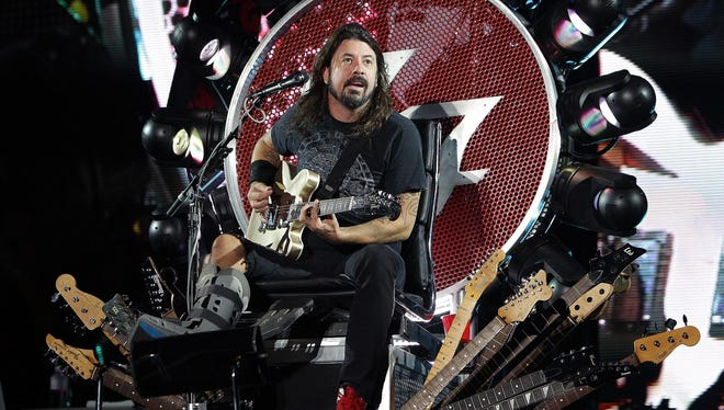 Dave Grohl will perform with Foo Fighters on Aug. 27 at Klipsch Music Center.
