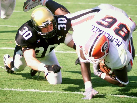 Jonathan Shaub was a part-time starter in his freshman