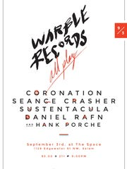 Take in a night of northwest music from Warble Records 9 p.m. Saturday, Sept. 3, at The Space Concert Club, 1128 Edgewater St. NW.