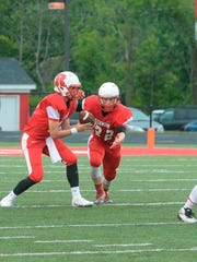 Richmond hosted Arsenal Tech in a football game Friday,