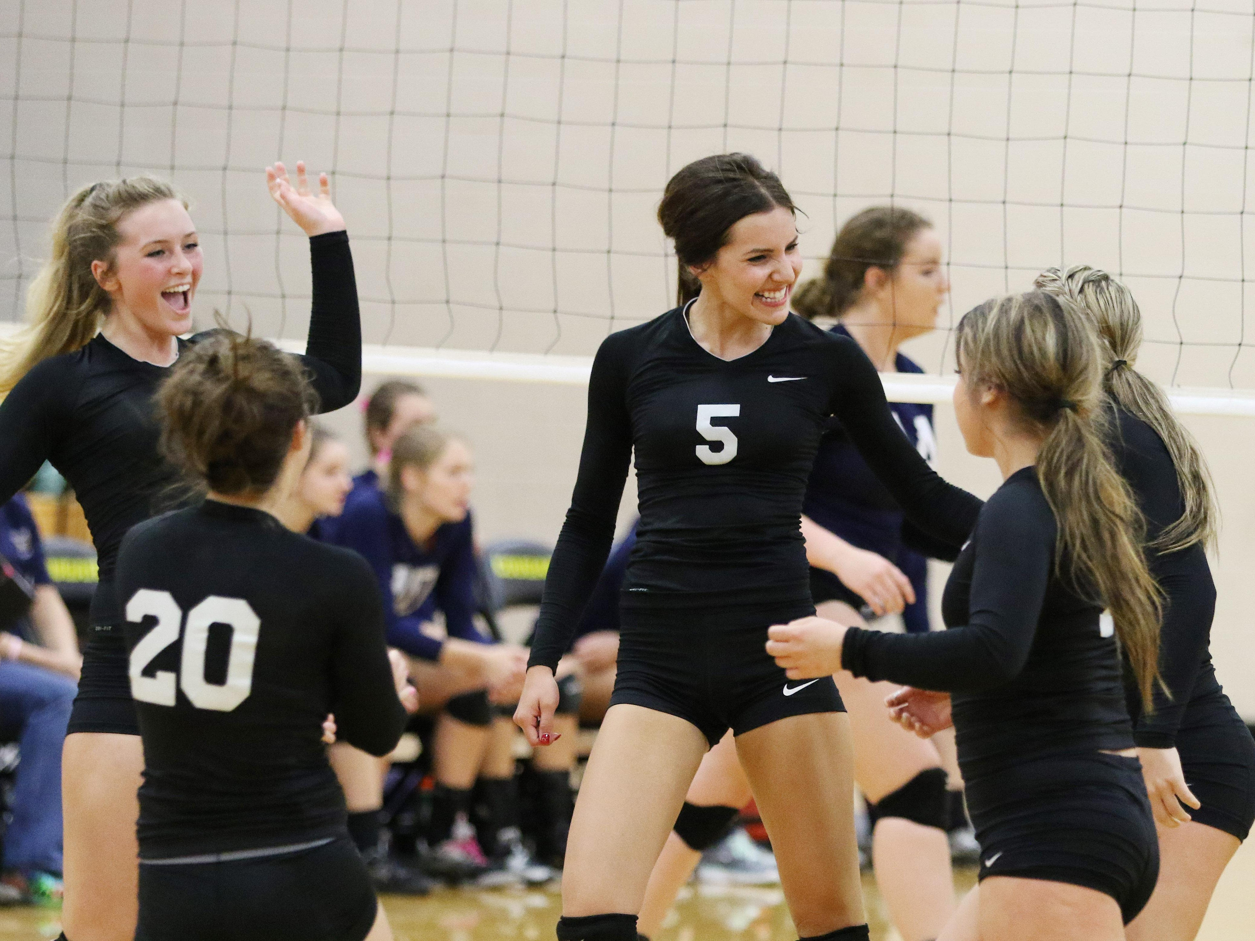 Cascade defeats Stayton in an Oregon West Conference Match Thursday, Oct. 15, 2015, in Turner.