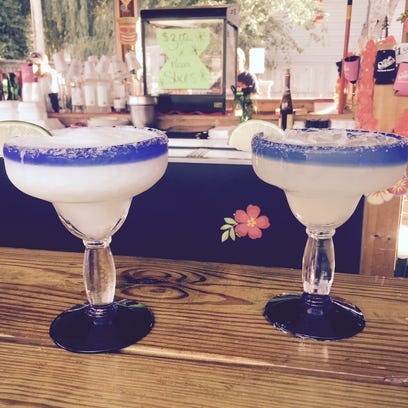 Margaritas are served up at Charley's Bar & Grill in