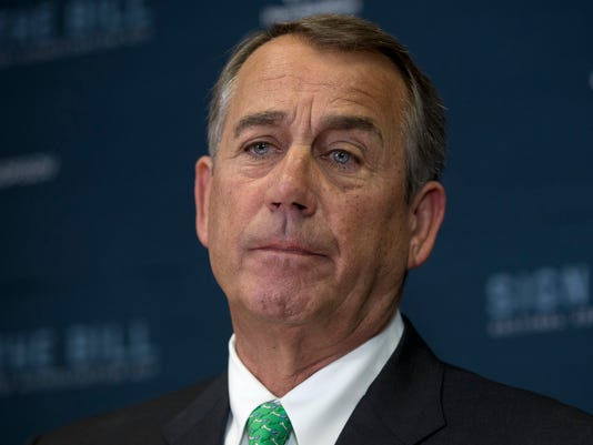 AP CAPITOL HILL BUZZ BOEHNER A FILE USA DC