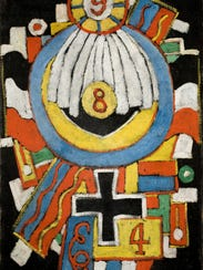 Marsden Hartley (1877–1943) created this work circa