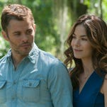 """James Marsden and Michelle Monaghan are lovers with a past in """"The Best of Me,"""" from the Nicholas Sparks novel."""