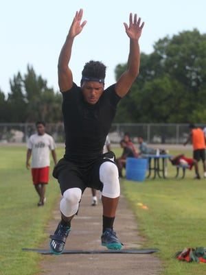 Josh Norville, who ranks first in the triple jump in Class 3A and 11th in the nation, is hoping to win a state title.