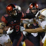 SDSU running back Donnel Pumphrey is one of the West Coast's most explosive players.
