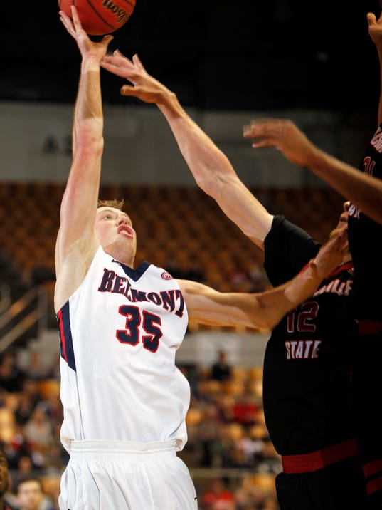 Belmont Men S Basketball >> Belmont NCAA hopes end in another OVC Tournament upset