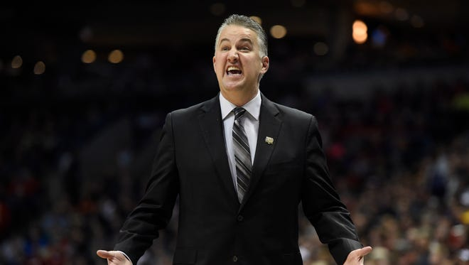 Purdue Boilermakers head coach Matt Painter.