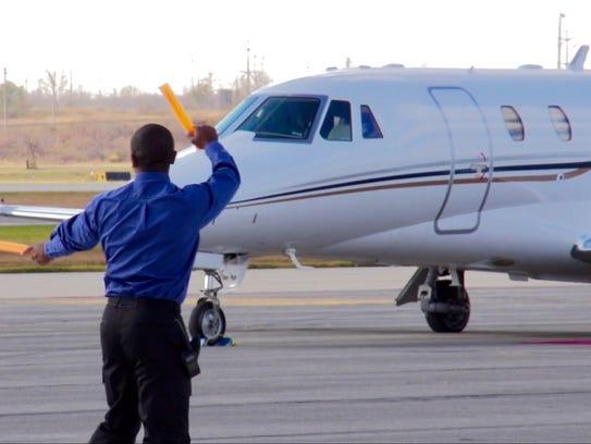 Gary/Chicago International Airport handles numerous