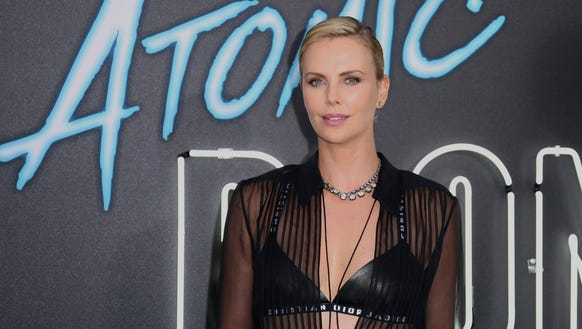 Charlize Theron presented her film 'Atomic Blonde'