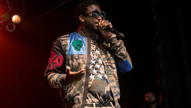 """Gucci Mane brought his """"Trap God Tour"""" to the Rave's Eagles Ballroom Thursday."""