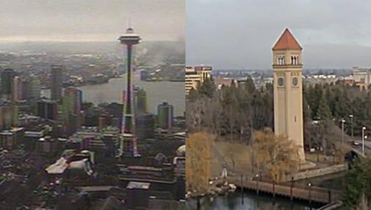 Seattle vs. Spokane