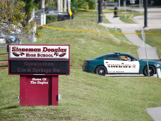 AP SCHOOL SHOOTING FLORIDA A USA FL