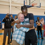 How WNBA star Tina Charles saved a man's life from 2,000 miles away