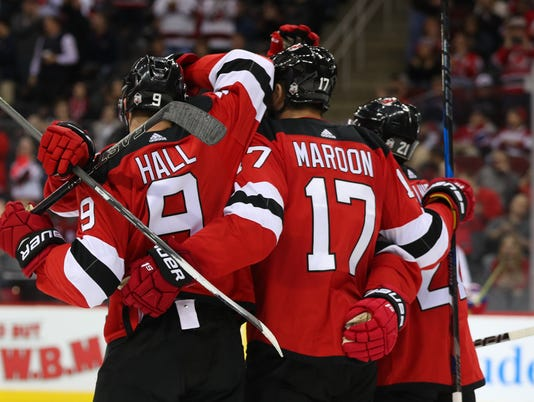 NHL: Montreal Canadiens at New Jersey Devils
