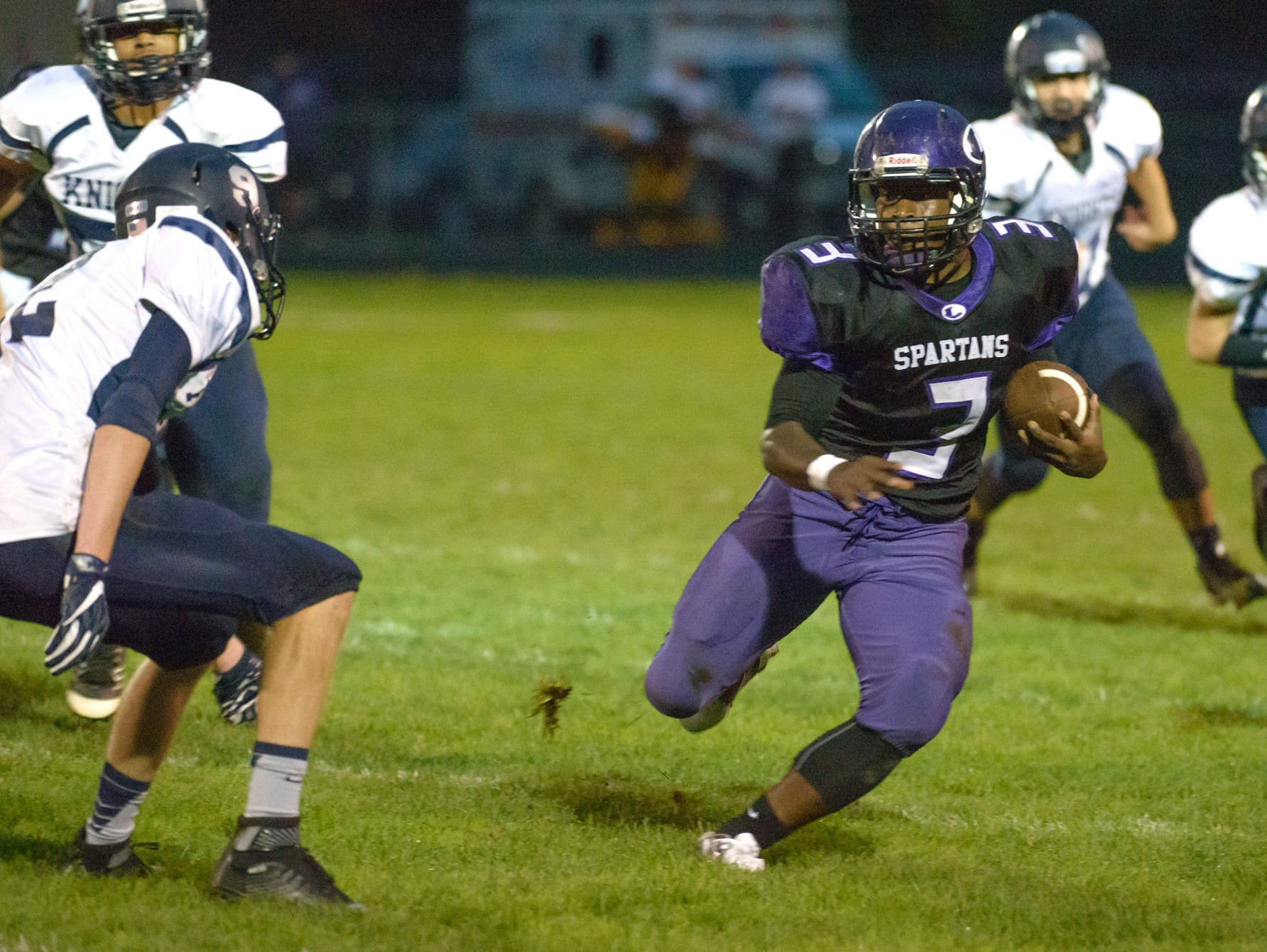 Lakeview running back Jay'Vion Settles had a near-school record of 258 yards on 16 carries earlier this season.