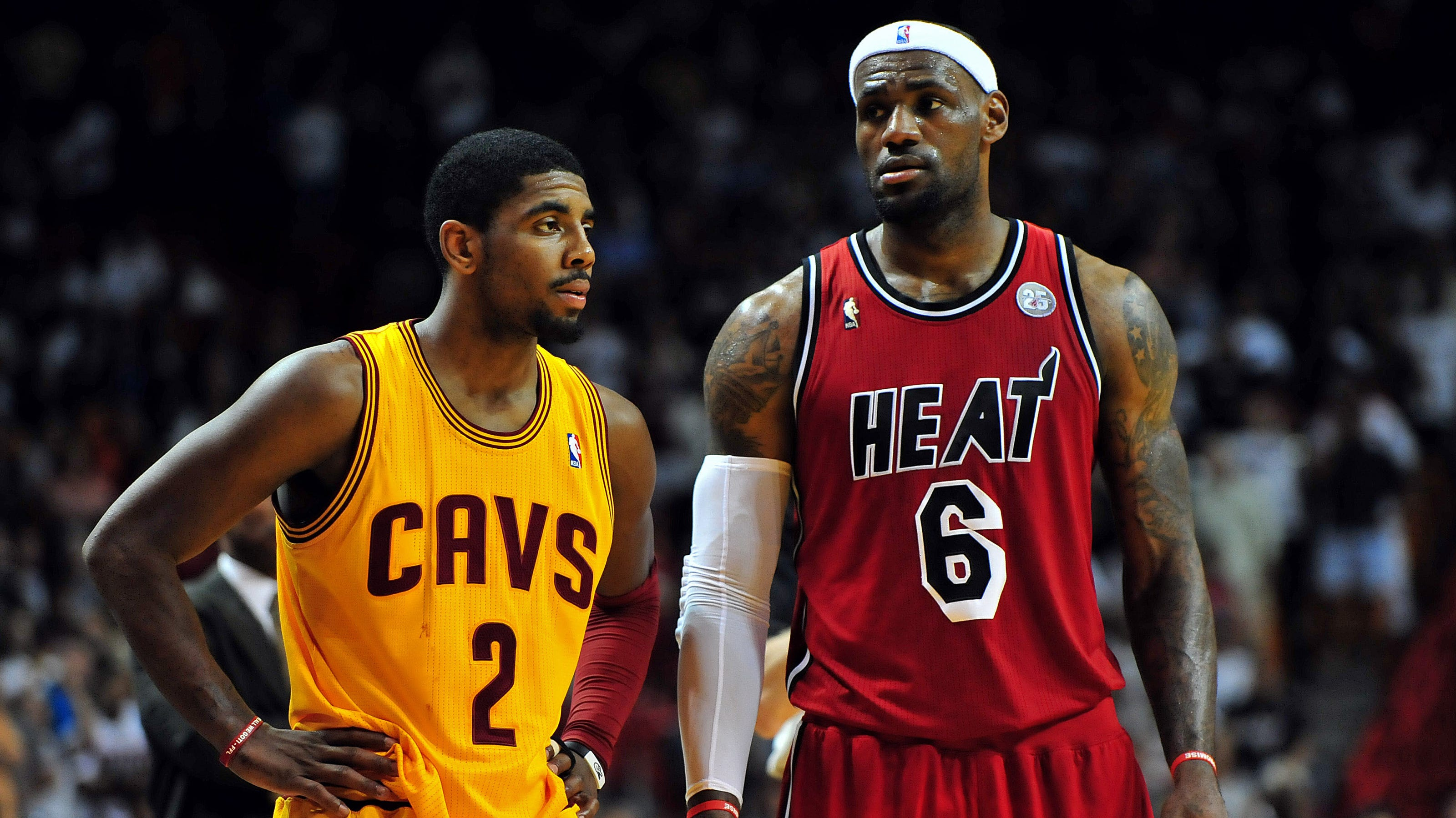 Kyrie Irving ready to blossom next to LeBron James