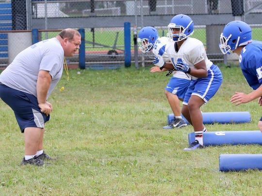 Damian Saks was head varsity football coach at Horseheads before becoming an assistant principal at Elmira High School in January of 2016.