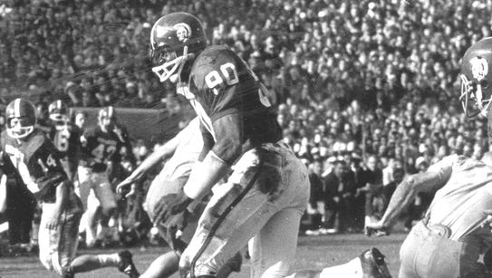 George Webster, a two-time All-American roverback,