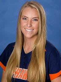 UTM's Carly Gonzales hit three home runs in one game Wednesday.