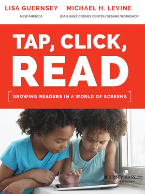 Cover of Tap, Click, Read by Lisa Guernsey and Michael Levine