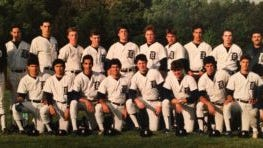 1987 Delbarton baseball team (Courtesy of Patrick O'Donnell)